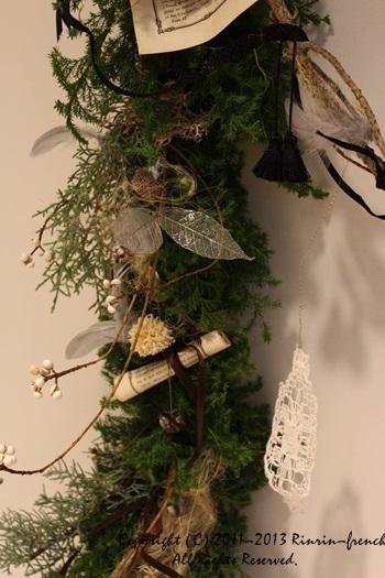 クリスマスガーランド&リース 2013_e0237680_1014075.jpg