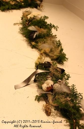 クリスマスガーランド&リース 2013_e0237680_1021344.jpg