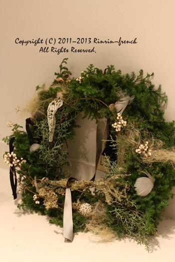 クリスマスガーランド&リース 2013_e0237680_1034694.jpg