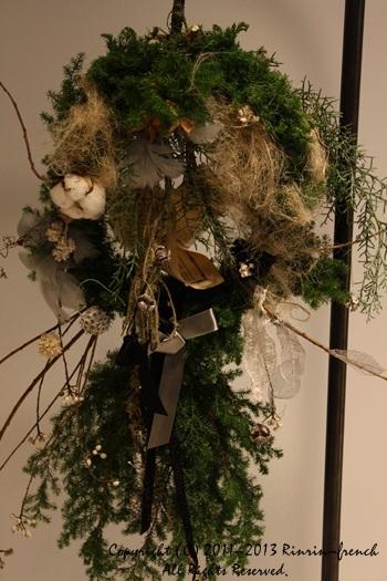 クリスマスガーランド&リース 2013_e0237680_1042342.jpg