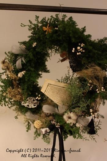クリスマスガーランド&リース 2013_e0237680_1044971.jpg