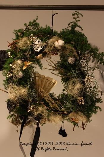 クリスマスガーランド&リース 2013_e0237680_1052219.jpg