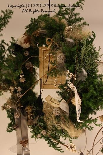 クリスマスガーランド&リース 2013_e0237680_105489.jpg