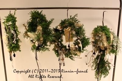 クリスマスガーランド&リース 2013_e0237680_1091192.jpg