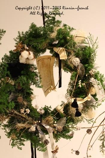 クリスマスガーランド&リース 2013_e0237680_951150.jpg