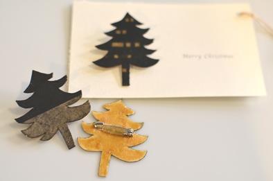 クリスマス ブローチ 冬の装い _d0263815_1748316.jpg