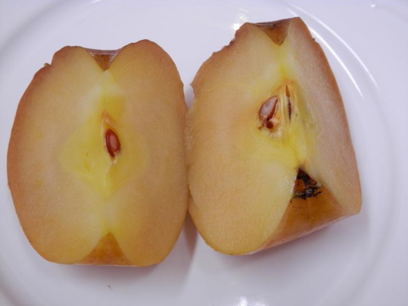 新発売「焼き林檎とクリームチーズ」のデザートピザ_a0125419_21111536.jpg