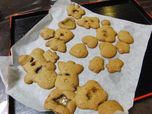 パンレク ~ クリスマスのステンドクッキー ~_e0222340_1875537.jpg