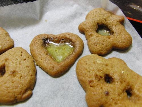 パンレク ~ クリスマスのステンドクッキー ~_e0222340_1882136.jpg