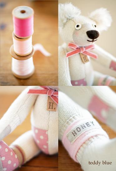 teddy milky honey  テディ ミルキーハニー_e0253364_19155230.jpg