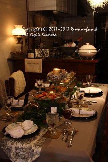 フレンチアンティーク仲間との素晴らしすぎるクリスマス会2013_e0237680_17193539.jpg