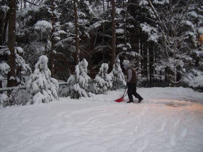 今シーズン初の、本格的な積雪となりました_d0133485_10134037.jpg