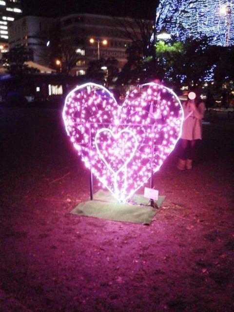 勾当台公園SENDAI光のページェントからメリークリスマス!_b0081121_614726.jpg