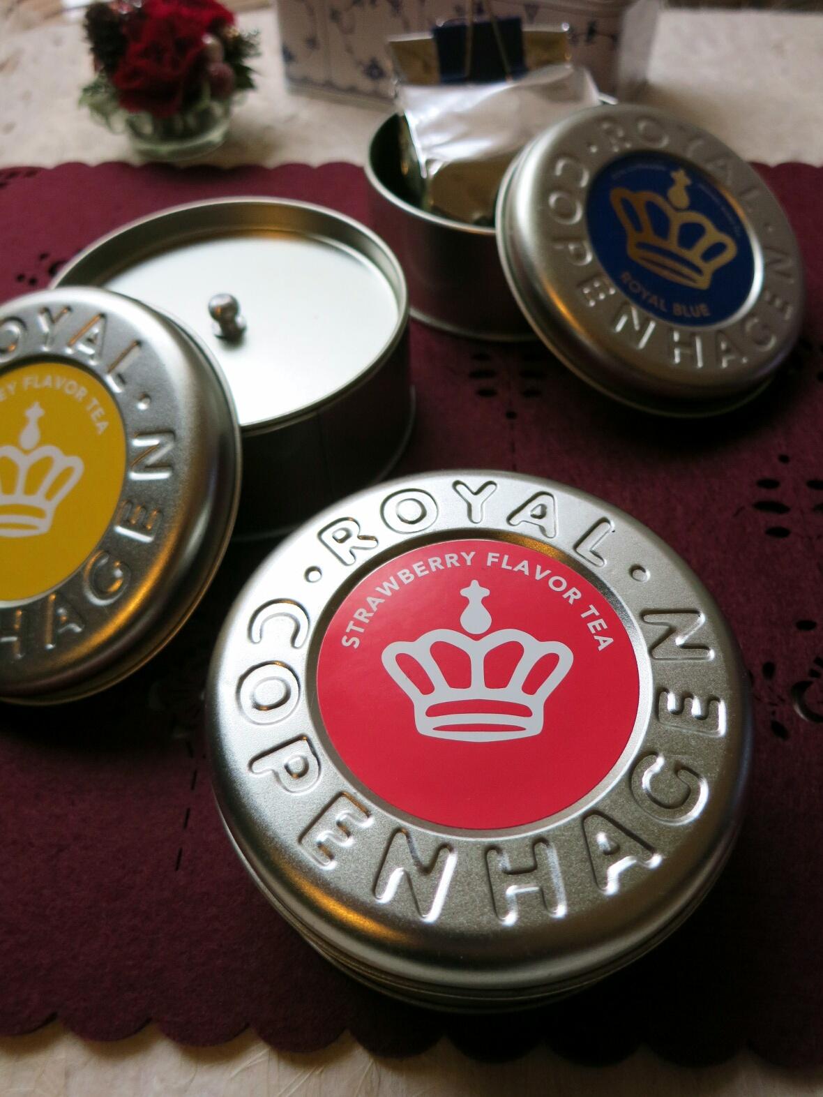 Rコペンハーゲンの紅茶缶~ふりこ茶房のふりこケーキ_f0236260_1734427.jpg