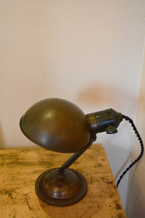 『戦前卓上照明  トランプ柄』_f0192906_19322570.jpg