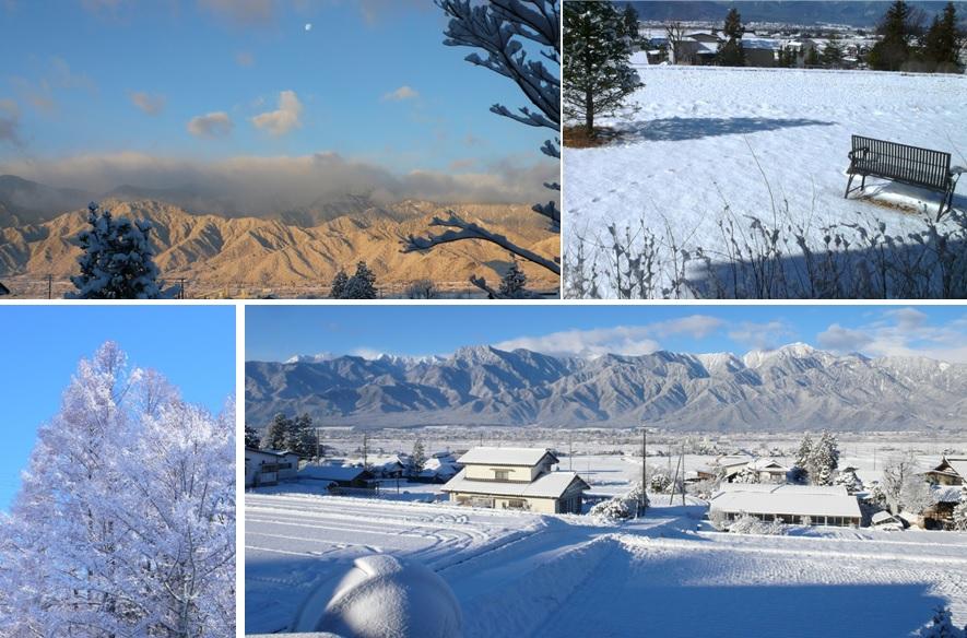 眩しい雪原とアルプス_a0212730_18325184.jpg