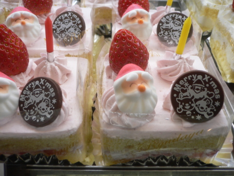 クリスマスケーキ♪_c0197734_16495084.jpg