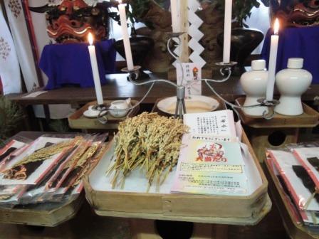 岩泉大神宮にて「龍泉洞の若水」お飾りの神事を行いました。_b0206037_1048072.jpg