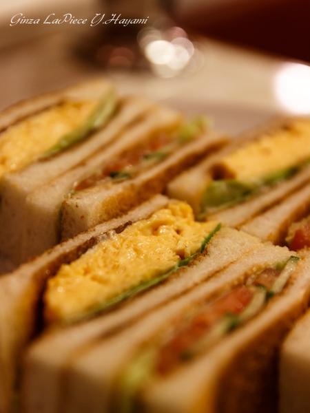 有楽町ランチ はまの屋パーラー 玉子野菜サンドゥイッチ_b0133053_014145.jpg