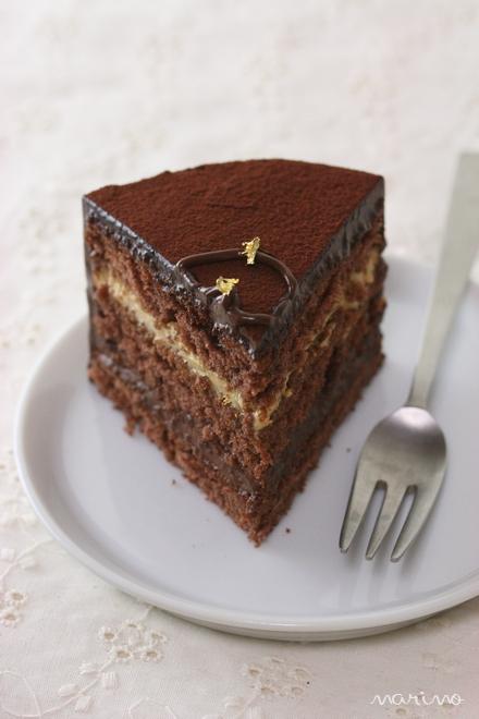 クリスマスに♪ チョコとコーヒーのケーキの作り方♪_d0098954_2257768.jpg