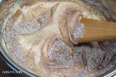 クリスマスに♪ チョコとコーヒーのケーキの作り方♪_d0098954_233476.jpg