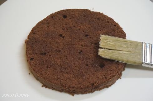 クリスマスに♪ チョコとコーヒーのケーキの作り方♪_d0098954_23385853.jpg