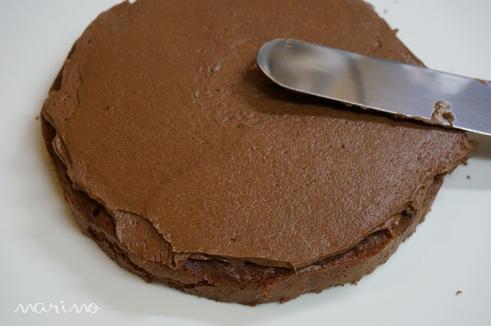 クリスマスに♪ チョコとコーヒーのケーキの作り方♪_d0098954_23394215.jpg