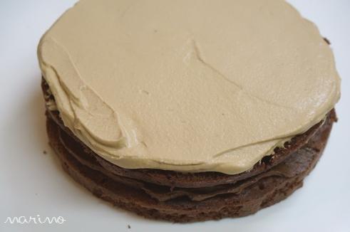 クリスマスに♪ チョコとコーヒーのケーキの作り方♪_d0098954_2340966.jpg