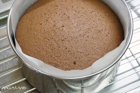 クリスマスに♪ チョコとコーヒーのケーキの作り方♪_d0098954_23424348.jpg