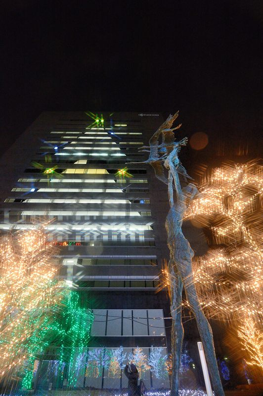 クリスマスイルミネーション@京セラ本社 其の一_f0032011_15343958.jpg