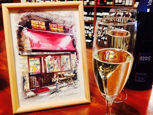 イタリアのスパークリングワインとプレゼント・・・_a0254125_20153371.jpg