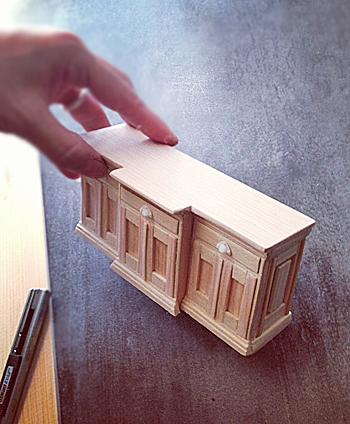 miniature* 我が家の家具再現_e0172847_8271948.jpg