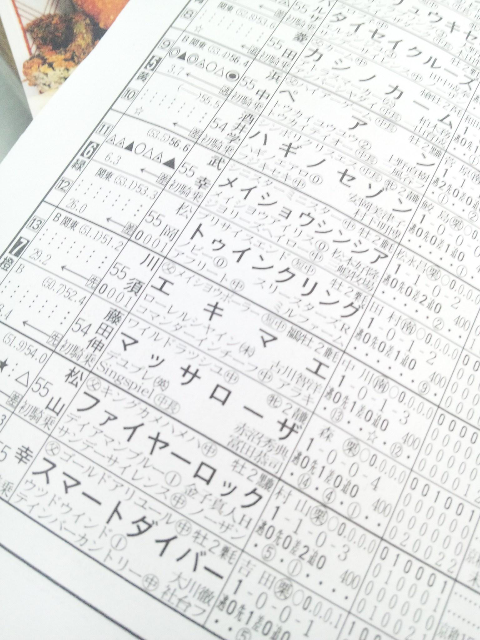 明日の阪神9レース_c0001670_0584868.jpg