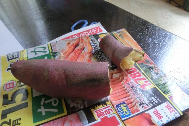 美味しい焼き芋の作り方、サツマイモは蒸すより焼くべき、焼き芋の美味しい焼き方、美容と健康に焼き芋_d0181492_005837.jpg