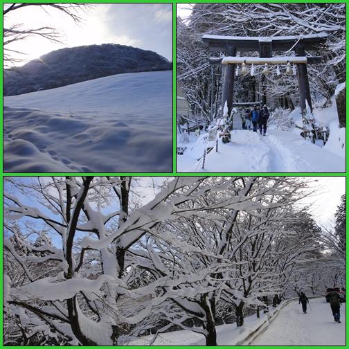 雪の英彦山・四王寺の滝_e0164643_16385418.jpg