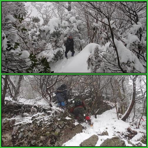 雪の英彦山・四王寺の滝_e0164643_17154026.jpg