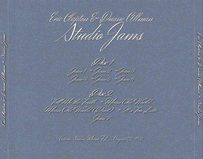 Eric Clapton & Duane Allman - Studio Jams._f0002755_10544130.jpg