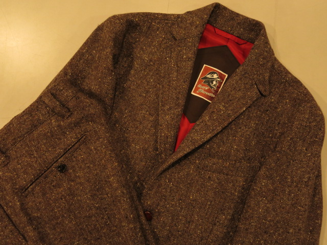 """MIGHTY-MAC × TheThreeRobbers Jacket&Pants Donegal Tweed\""ってこんなこと。_c0140560_13175813.jpg"