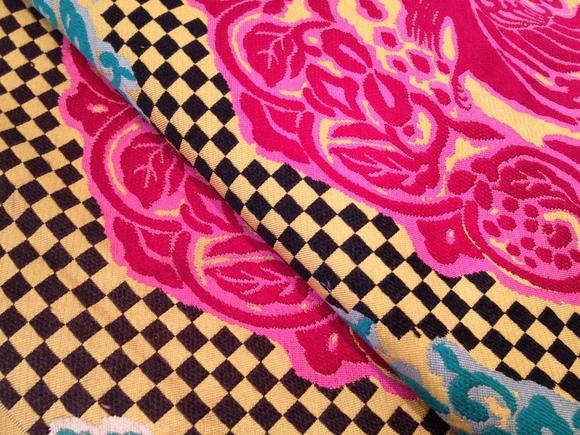 ハート♪カタバミ着物×市松帯「歳末 今昔きもの市」販売商品6_c0321302_12181120.jpg