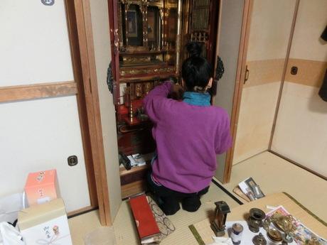 仏壇掃除by元気そうじ屋_a0203003_2038567.jpg