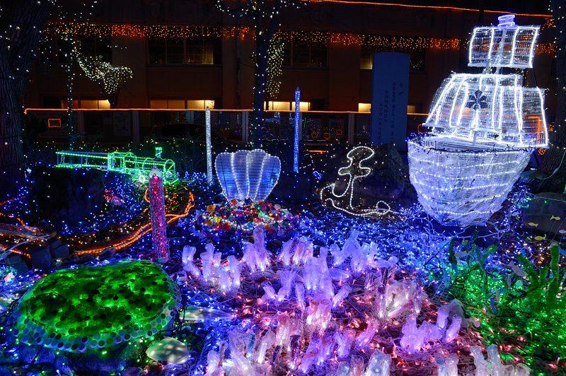 クリスマスイルミネーション@平安女学院_f0032011_19512189.jpg