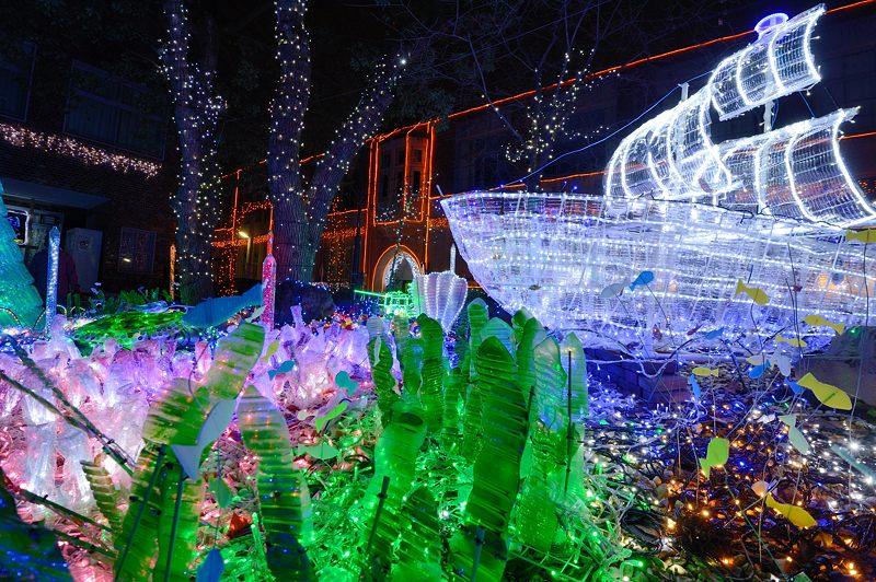 クリスマスイルミネーション@平安女学院_f0032011_19524326.jpg