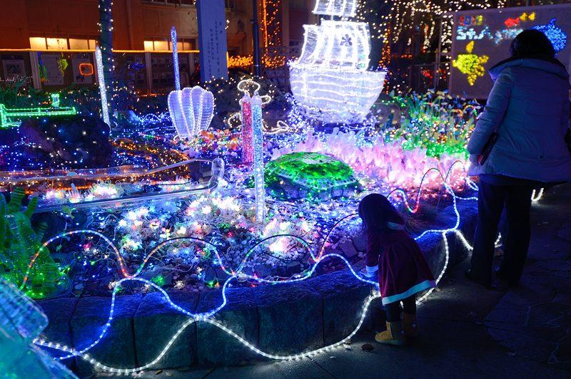 クリスマスイルミネーション@平安女学院_f0032011_19533980.jpg