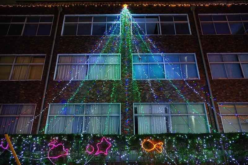 クリスマスイルミネーション@平安女学院_f0032011_19545465.jpg