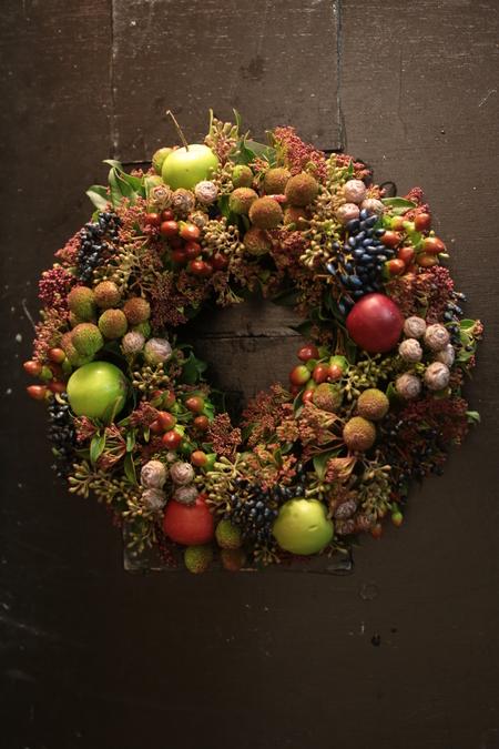 12月定期レッスン クリスマスリース2013_a0042928_21441065.jpg