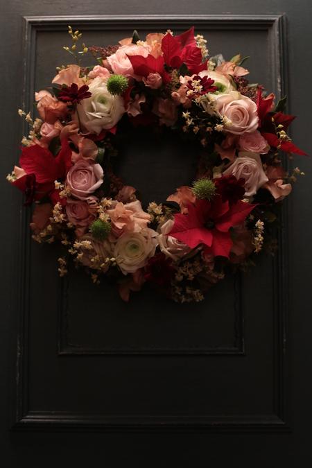12月定期レッスン クリスマスリース2013_a0042928_21465281.jpg