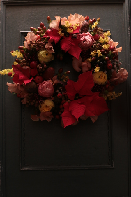 12月定期レッスン クリスマスリース2013_a0042928_21475018.jpg