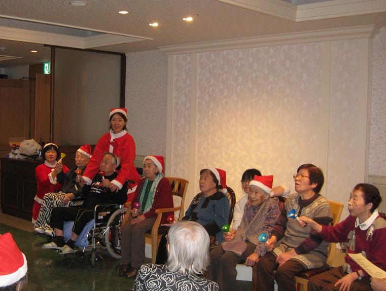 ☆クリスマス会☆_e0163042_12204430.jpg