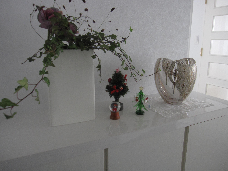 クリスマスの飾りも今日でさよならね~_a0279743_1181639.jpg