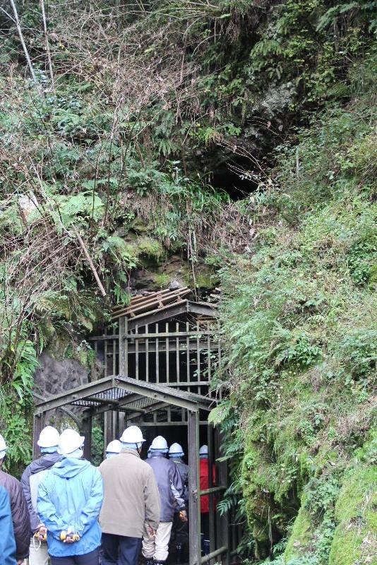 出雲の旅 (2) 石見銀山世界遺産センターの石見銀山ツアー_c0011649_14525749.jpg